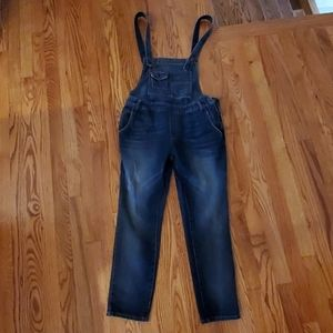 Free People distressed overalls SZ 27